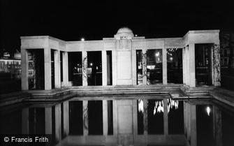 Brighton, the War Memorial c1955