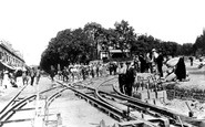 Brighton, Tramway Construction, Lewes Road c.1900