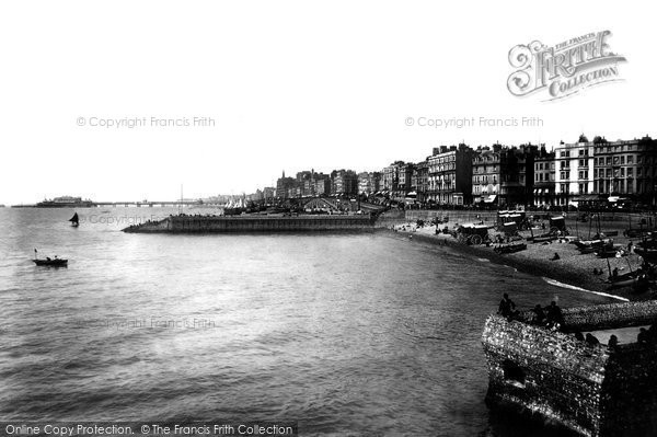Brighton, View From Palace Pier 1902
