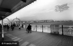 Brighton, View From The Palace Pier c.1955
