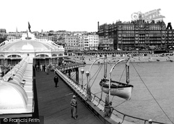 Brighton, View From West Pier c.1947
