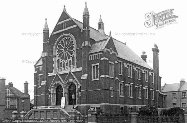 Brighton, Wesleyan Church, Portland Road 1898