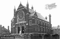 Brighton, Wesleyan Church, Portland Road 1898