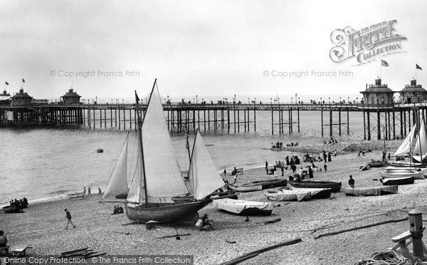 Brighton, West Pier 1889