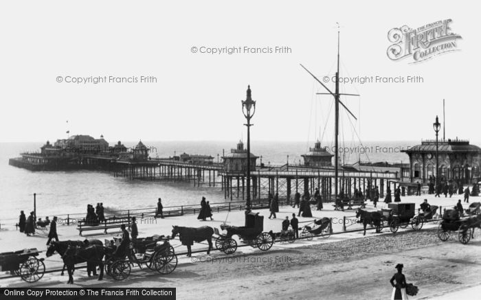 Brighton, West Pier 1896