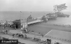 Brighton, West Pier 1921