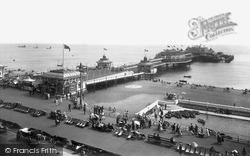 Brighton, West Pier And The Boating Lake 1925