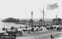West Pier c.1896, Brighton