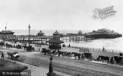 Brighton, West Pier c.1896
