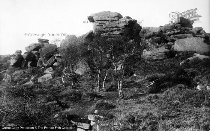 Photo of Brimham Rocks, 1895