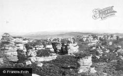 Brimham Rocks, 1895