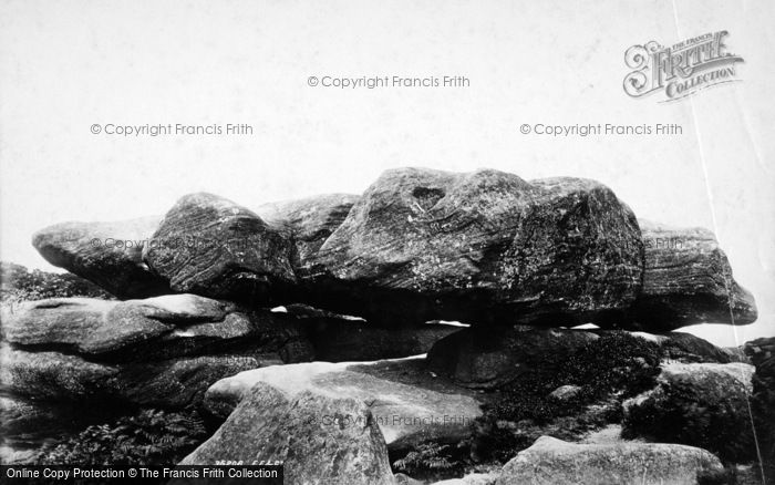Photo of Brimham Rocks, 1895