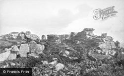 Brimham Rocks, c.1874