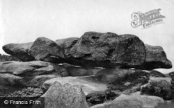 c.1874, Brimham Rocks