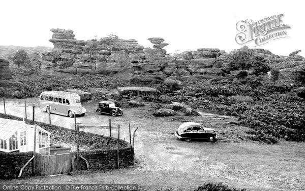 Photo of Brimham Rocks, c.1960
