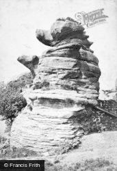 Brimham Rocks, Dancing Bears 1874