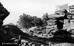 Brimham Rocks, General View c.1960