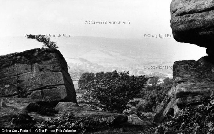 Photo of Brimham Rocks, General View c.1960