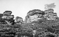 Brimham Rocks, Hawk Rock c.1874