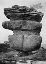 Pivot Rock 1895, Brimham Rocks