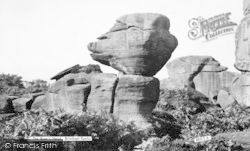 Brimham Rocks, The Boar's Head c.1960