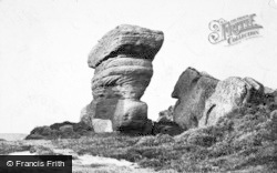 Brimham Rocks, The Boat And Yoke Of Oxen 1895