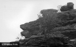 Brimham Rocks, The Lion's Head c.1960