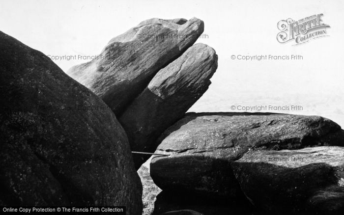 Photo of Brimham Rocks, The Monster c.1960