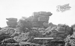 Brimham Rocks, The Watchdog c.1960