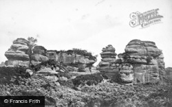 Brimham Rocks, Tower Rocks c.1874