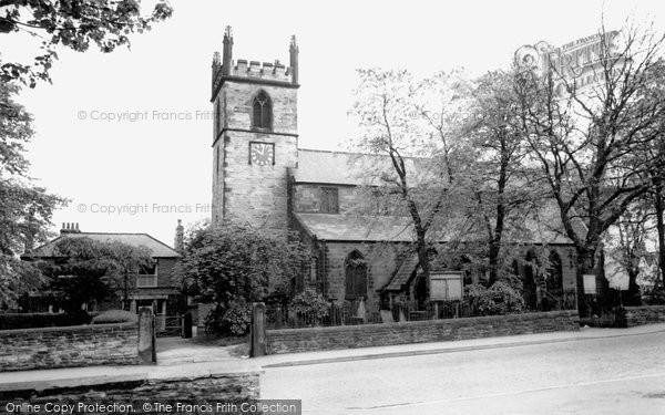 Photo of Brimington, Church Of St Michael And All Angels c.1965