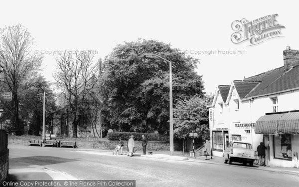 Brimington, Ringwood Road and Church c1965