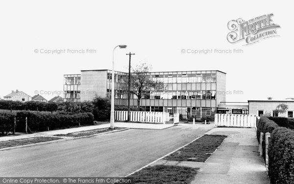 Brimington, Secondary Boys School c1965