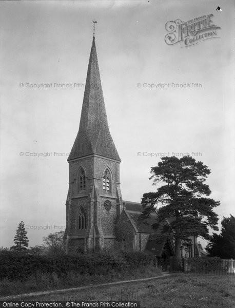 Brimpton, Parish Church Of St Peter 1939