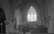 Brimpton, Parish Church Of St Peter Interior 1939