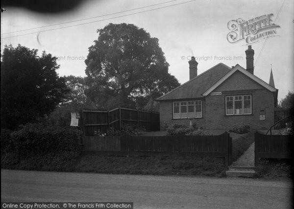 Brimpton, Post Office 1939