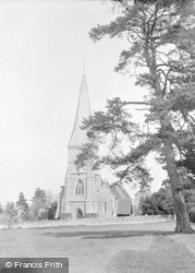 Brimpton, St Peter's Church 1952