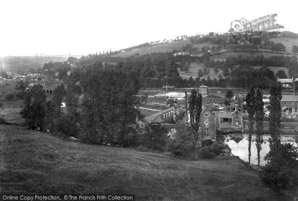 Brimscombe, The Bourne From Besbury 1900