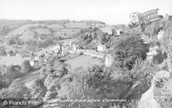 Brimscombe, View From Minchinhampton Common c.1960