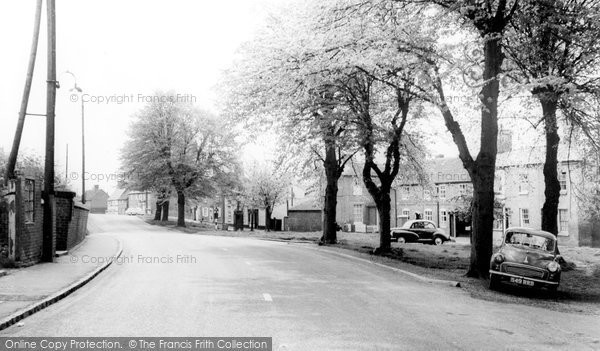 Brinklow, The Crescent c.1965
