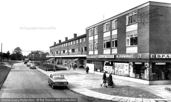 Brinnington, The Shopping Precinct c.1965