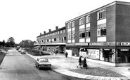 Brinnington, the Shopping Precinct c1965