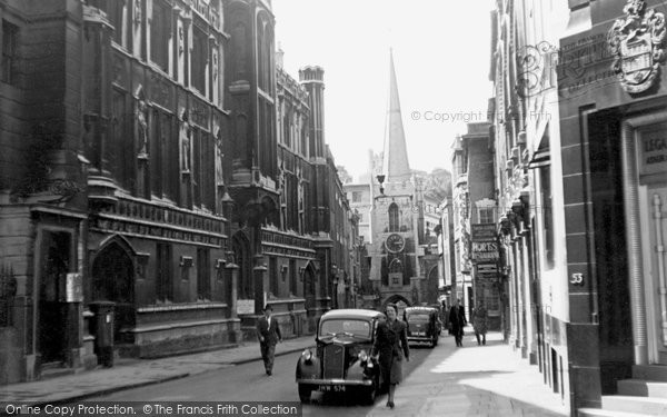 Photo of Bristol, Broad Street c.1935