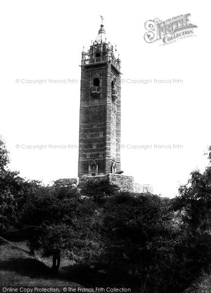 Bristol, Cabot Tower 1900