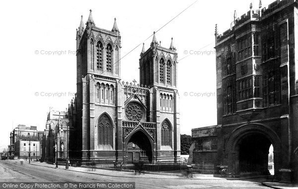 Bristol, Cathedral 1900
