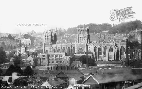 Bristol, Cathedral 1901