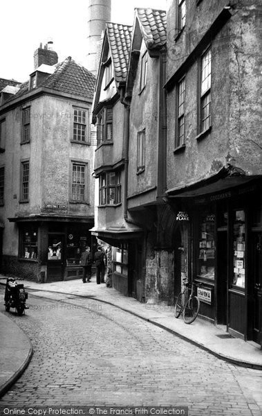 Photo of Bristol, Christmas Street c1950, ref. B212261