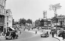Bristol, City Centre 1950