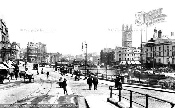 Photo of Bristol, the City Centre 1900, ref. 45649
