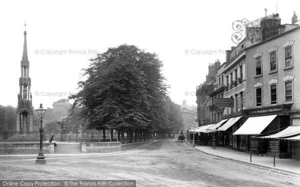 Bristol, College Green 1887